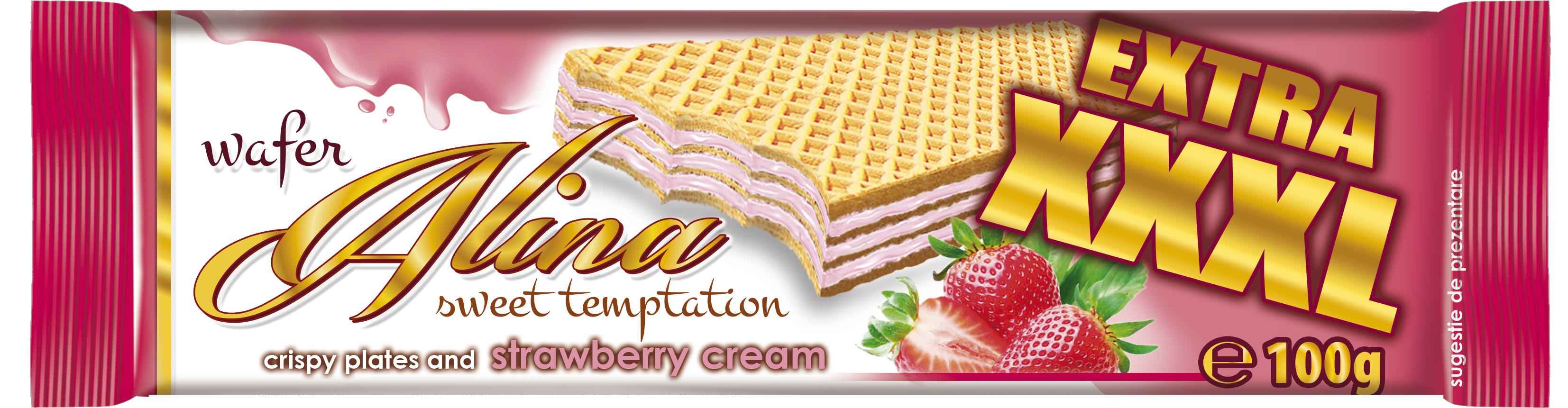 Alina EXTRA XXXL strawberry 100