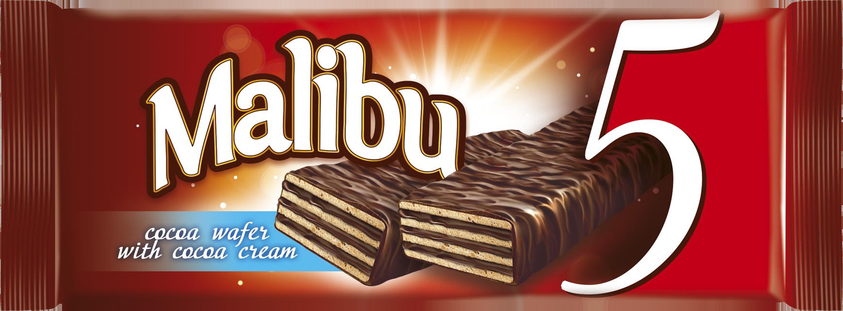 vafer Malibu 5 cocoa 70 gr  3d