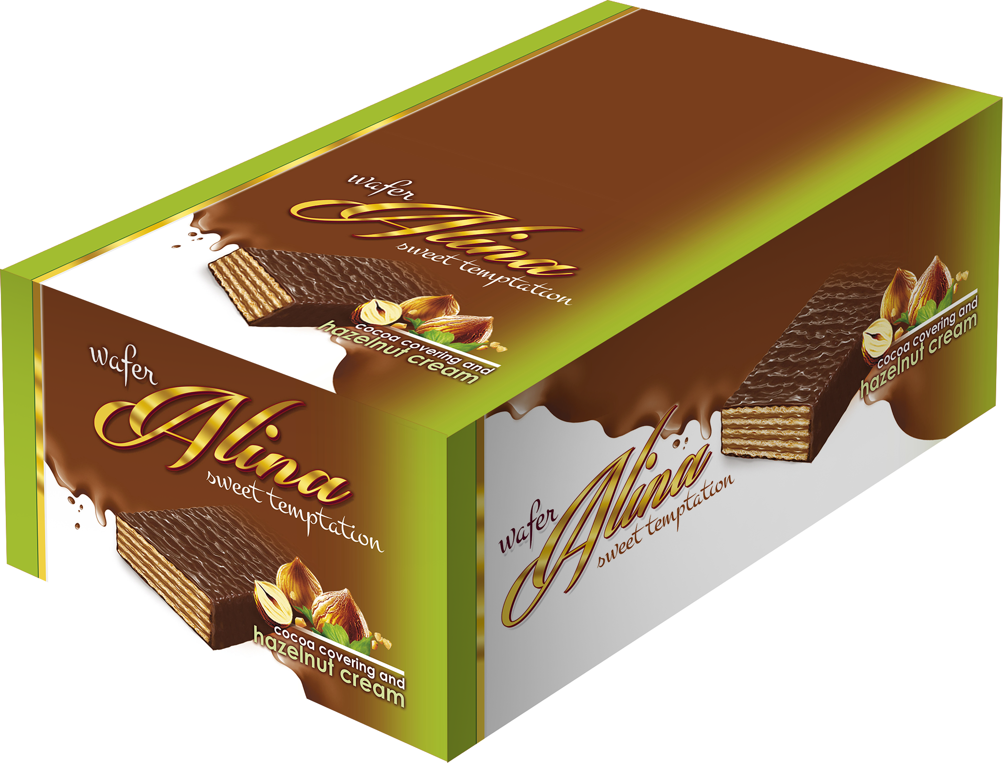 box Alina hazelnuts 50g